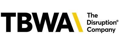 Logo para sitio TBWA 391 x 153